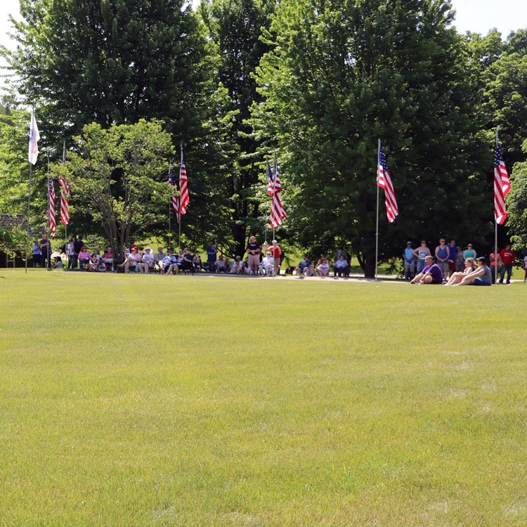 Memorial Day Celebration at City Cemetery