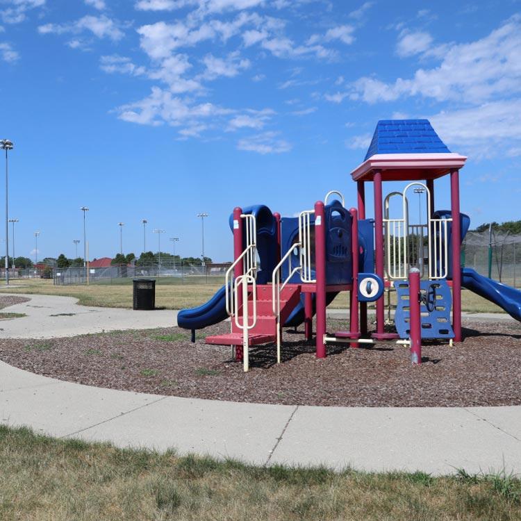 Playground at SCORE park