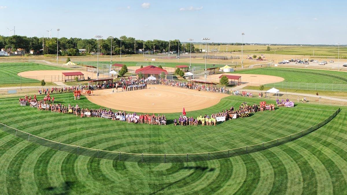 Panoramic View of SCORE field