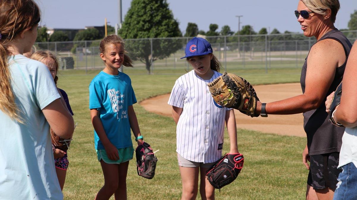Youth Softball Practice